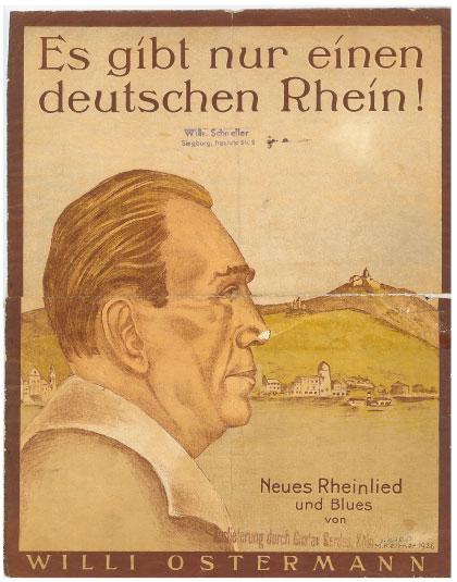 Es gibt nur einen deutschen Rhein