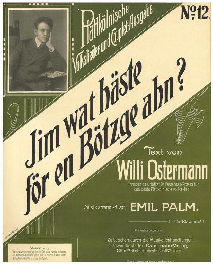 Jim (Fritz), wat häs do för e Bötzje ahn