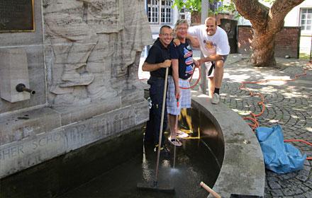 Brunnenreinigung 2014